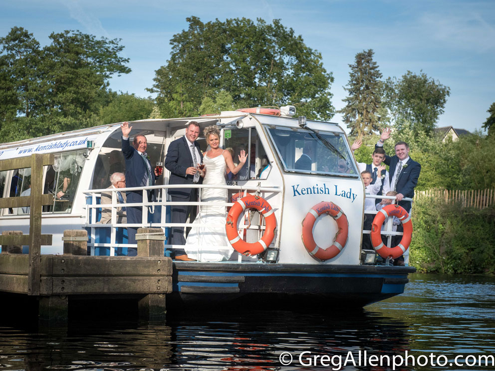 Wedding Receptions on The Kentish Lady