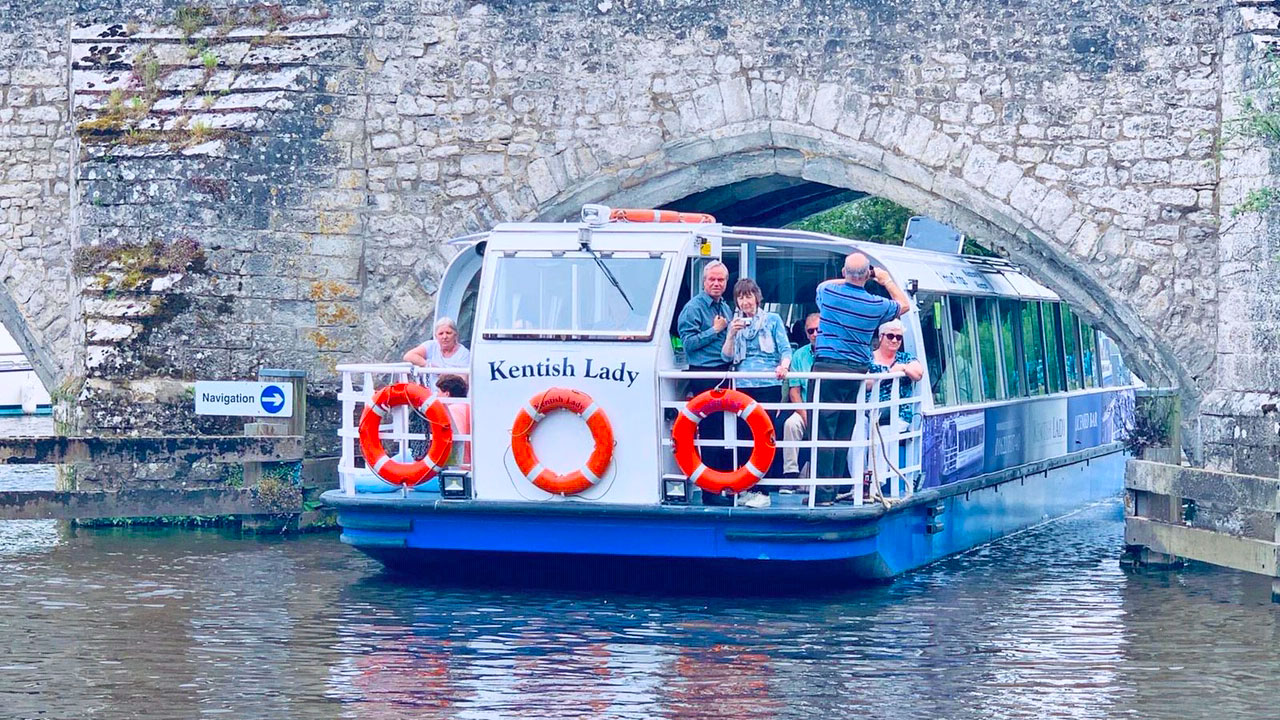 Boat Trips in Kent aboard the Kentish Lady